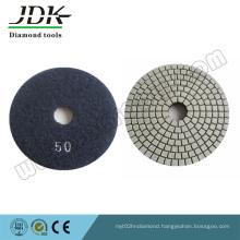 Velcro Backed 125mm Grit 5o Diamond Flexible Polishing Pads