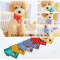 Cachecol para animais Cachecol de algodão para cães Impresso Bandana para cães