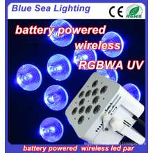 High Quality Wireless Led Par up Light battery charged LED Stage Uplight