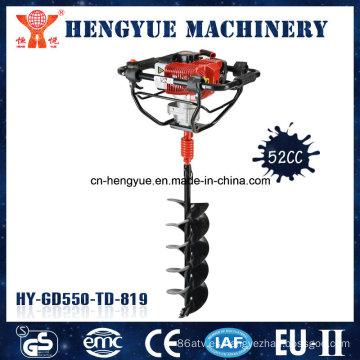 Mini taladradora de orificio de tierra de 52 cc