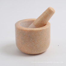 """2016 hot sale white marble pestle and mortar WB132-F 4""""X4"""""""