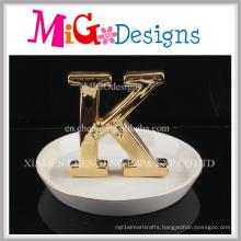 Beautiful Ceramic Ring Fashion Shaped Jewelry Holder