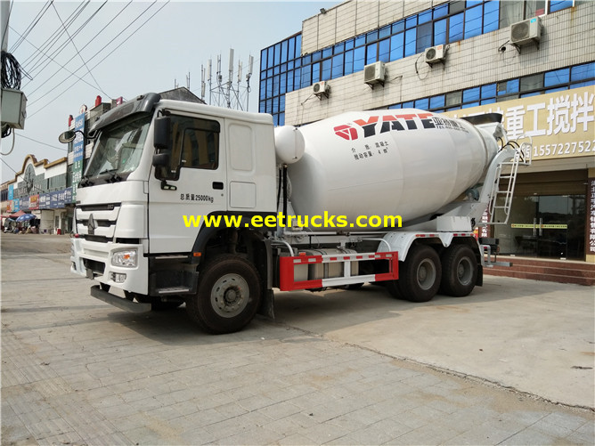 HOWO 5ton Cement Mixer Trucks
