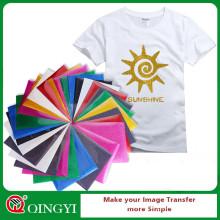 Qingyi heißer Verkauf Glitter Wärmeübertragung Vinyl mit Blattgröße