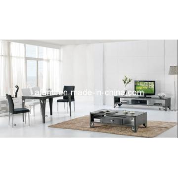 Comedor de muebles de hardware de vidrio mesa de comedor superior (226T)