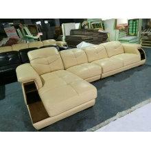 Nova chegada, Ciff mobília de sala de estar, sofá de couro moderno (A64 #)