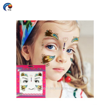 OEM Face Art Style Sticker Tattoo for party show