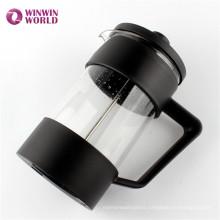 Best Selling Fancy Durable BPA Free PP Heat Resistant Glass Coffee Plunger
