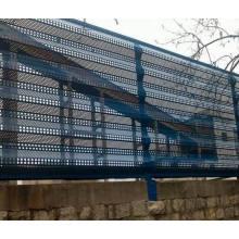 Rede de prova de poeira anti-vento para proteção de edifícios