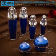 Caliente-vendiendo el más llamativo innovador reciclable interesante bola forma acrílico plástico envase cosmético