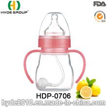 2016 Eco-Friendly Various Size Plastic Baby Feeding Bottle (HDP-0706)