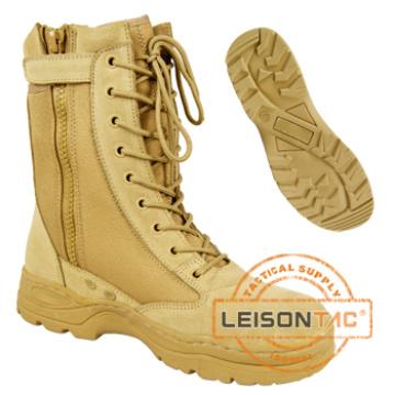 Taktische Stiefel aus Rindsleder Vollkorn Leder / Anti-Rutsch und Anti-Abrieb
