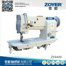 Двойная игла толстая кожа швейная машина Zy4420