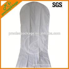 Cubierta de tela transpirable Vestido de novia nupcial Vestido de novia