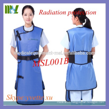 MSL001B-M 2016 New Type X-ray lead free apron radiation protection suit lead free apron price