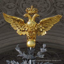Hot selling metal Eagle Wall Sculpture with CE certificate
