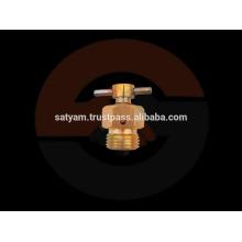 Válvula de purga de aire de latón / Válvula de drenaje de latón - Cuerpo hexagonal