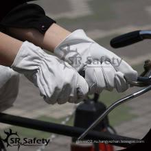 SRSAFETY Высококачественные кожаные перчатки для женщин