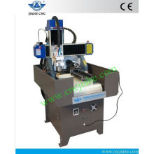 Shandong Jinan Cheap Hobby CNC Milling Machine 400*400mm With Rotary For Sale
