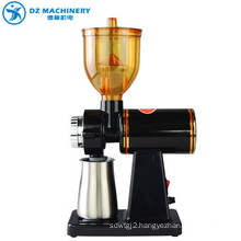 Factory direct supply manual electric coffee machine new package black OEM custom steel box ceramic stainless steel coffee machi