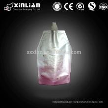 Мешок питьевой алюминиевой фольги с носиком