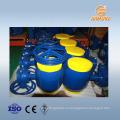 DN600 PN25 подогрев масла сливной шаровой клапан фильтр из углеродистой стали