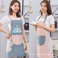 Fashionable and simple kitchen cooking apron