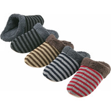 soft knitted fabric unisex indoor slipper with EVA soft sole