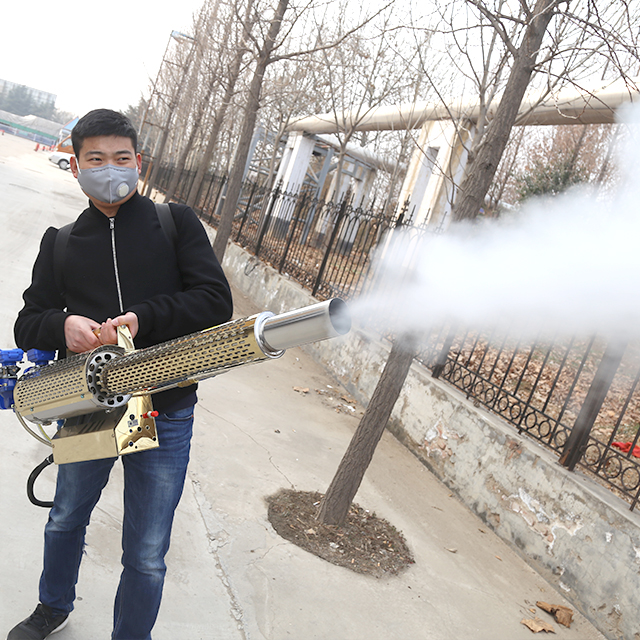 Medical disinfection fogging machine