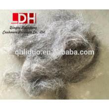 Pelo de cabra gris chino