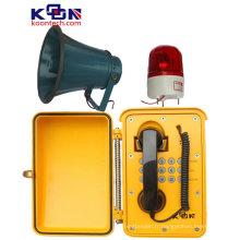 Haut-parleur résistant aux intempéries pour téléphone d'urgence de zone industrielle