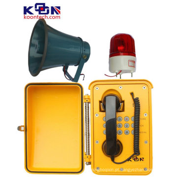 Falar alto à prova de intempéries para o telefone da emergência da área industrial