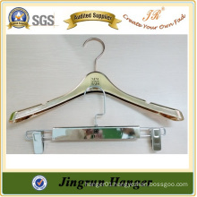 Alibaba Website Famous Electroplating Hanger for Kids Clothes