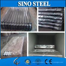 Jisg3303 Z80 0.17mm Galvanzied Metal Roofing Sheet