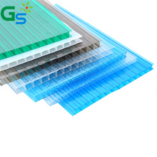 Window Well Cover Sunshade Plastic Roofing Sheet Sabic Polycarbonate Twinwal Hollow Sheet