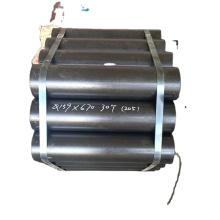 Mining application conveyor return idler roller with 204 bearing