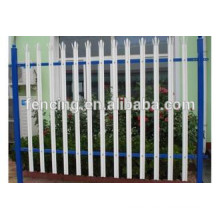 Hot sale high security galvanized and pvc coated steel palisade fencing panel