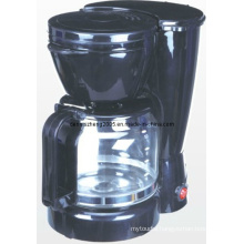10-Cup Kitchen Coffee Coffeemaker Brewer with Glass Cafe Carafe