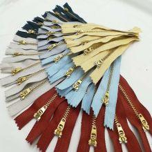 Best quality brass zipper wholesae