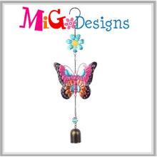 Carillones de viento coloridos del jardín de la mariposa del metal para la venta