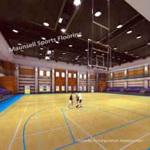 China Factory Продажа ПВХ спорта Roll / Interlock Floor для баскетбола