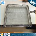 Heat resistant 304 Stainless Steel Wire Mesh Basket / Filter Basket