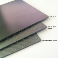 Precisen cnc cutting carbon fibre plates for Drone