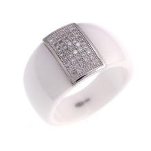 Bague en bijoux de mariage en argent sterling 925 (R21054)