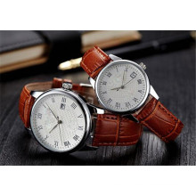 Yxl-712 Customized Logo Western Quartz Wrist Watch Couple Lovers Pair Watches