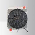 Mechanisches Hydrauliköl-Kühlsystem für den Tunnel