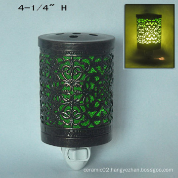 Electric Metal Plug in Night Light Warmer-15CE00889