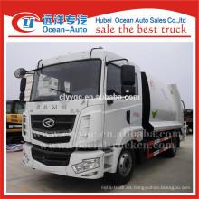 CAMC camión de basura de compresión