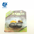 well sale promotion gift mini pull back car animal toy car with 4 style assorted