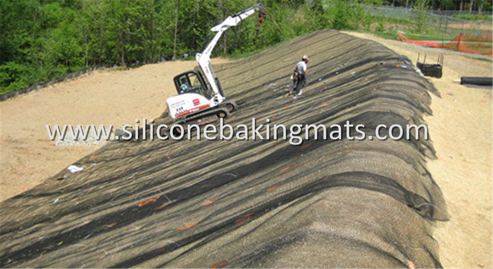 Uniaxial Pet Geogrid For Slope Reinforcement